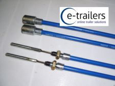 TRAILER BRAKE CABLE 1130mm GENUINE KNOTT -STAINLESS STEEL IFOR WILLIAMS  x2